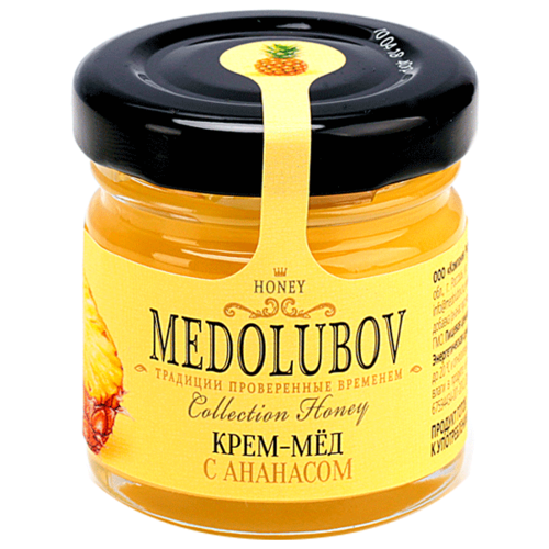 Крем-мед Medolubov с ананасом 40 мл