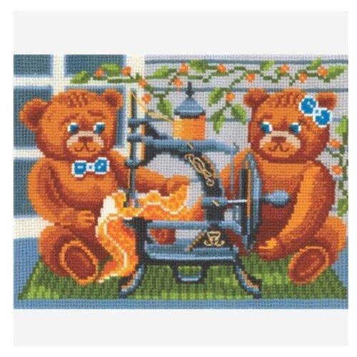 Сделай своими руками Набор для вышивания Портняжки 21 х 16 см (П-29) набор для вышивания сделай своими руками п 09 поварёнок
