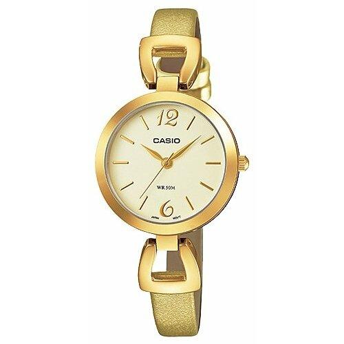Наручные часы CASIO LTP-E402GL-9A casio часы casio ltp e117g 9a коллекция analog