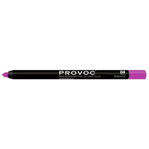 Provoc Гелевая подводка в карандаше для губ Semi-Permanent Gel Lip Liner 04 reboundКонтур для губ<br>