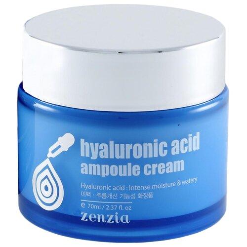 Zenzia Hyaluronic acid ampoul cream Крем для лица, 70 мл крем для лица ullex hyaluronic acid