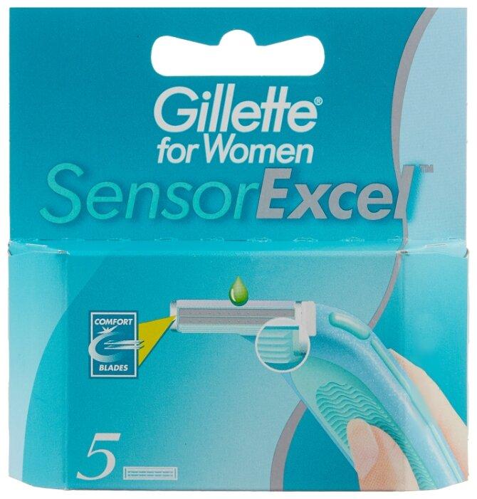 Gillette for Women Sensor Excel Сменные лезвия