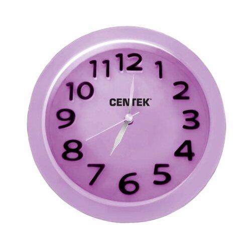 Часы настольные CENTEK СТ-7200 лиловый