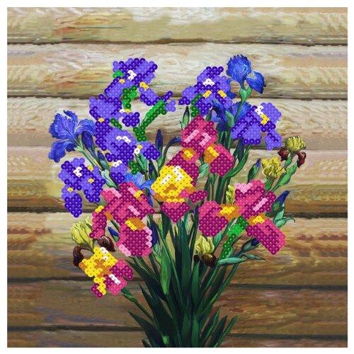 Купить Color Kit Картина из пайеток Ирисы (CMD001), Картины из пайеток