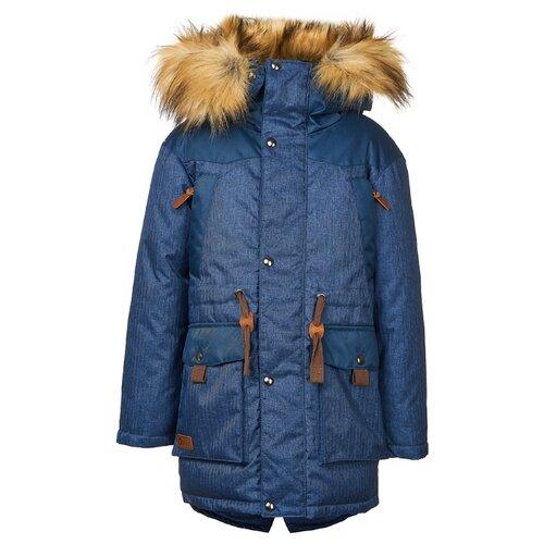 Куртка Oldos Габриэль OAW191T1JK61 размер 134, синий комплект для мальчика jicco by oldos сэм куртка и полукомбинезон цвет синий салатовый 1j7su09 размер 134 9 лет