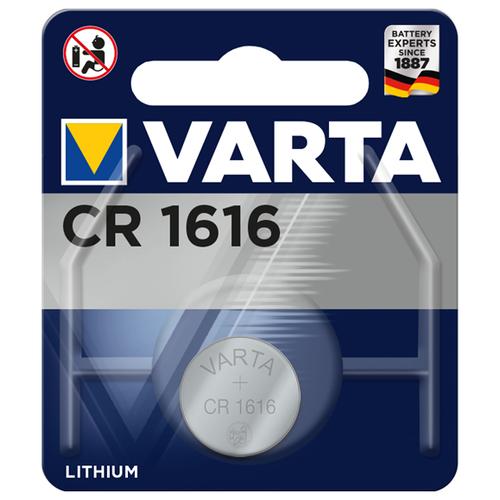 Фото - Батарейка VARTA CR1616, 1 шт. батарейка трофи cr1616 1 шт