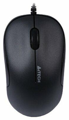 Мышь A4Tech D-330 DustFree HD Mouse Black USB