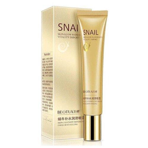 Beotua Крем для кожи вокруг глаз Snail Skin Glow Wonderful Vitality Import 20 г ever17 [japan import]