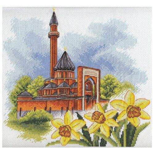 Набор для вышивания крестиком PANNA Мемориальная мечеть в Москве (MC-1407)