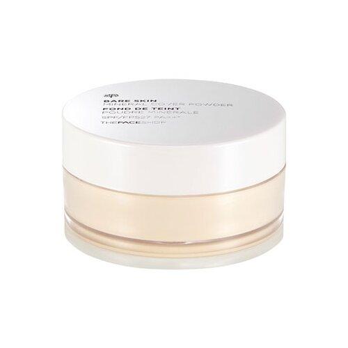 TheFaceShop Пудра рассыпчатая финишная Bare Skin Mineral Cover Powder SPF27 PA++ v201 apricot beige