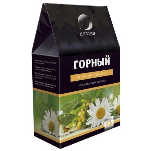 чай листовой алтэя луговой душица мята зверобой 80 гр 80 Чайный напиток травяной Алтэя Горный , 80 г
