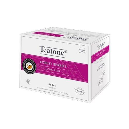 Чайный напиток красный Teatone Forest berries в пакетиках для чайника, 20 шт.