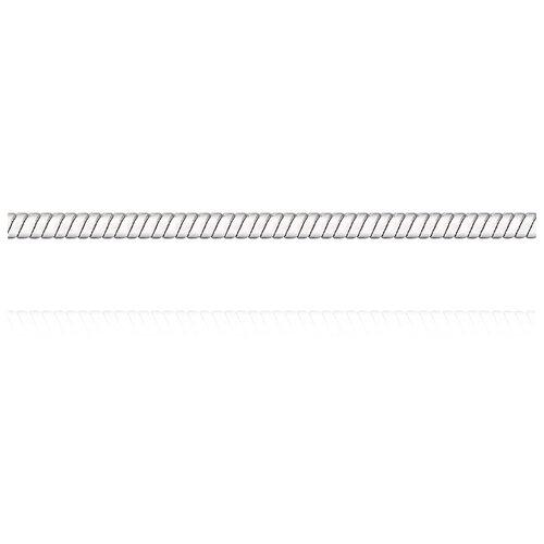 АДАМАС Цепь из белого золота плетения Панцирь одинарный ЦП135УКА1П-А58, 50 см, 4.53 г