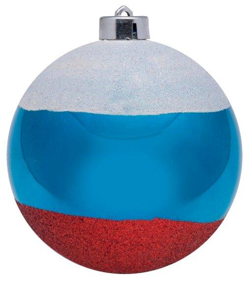 Шар SNOWMEN Российский флаг (Е40336)