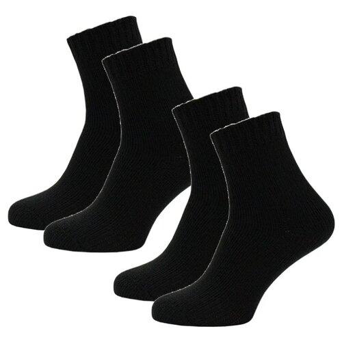 Носки HOSIERY 75367, 2 пары, размер 23-25, черный