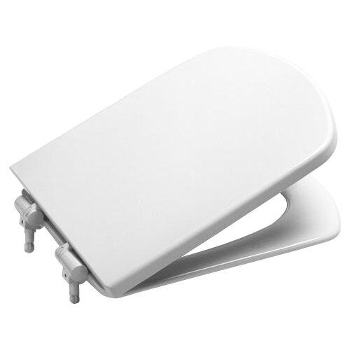 Фото - Крышка-сиденье для унитаза Roca Dama Senso ZRU9000041 дюропласт с микролифтом белый крышка сиденье для унитаза roca dama senso zru9302820 дюропласт с микролифтом белый