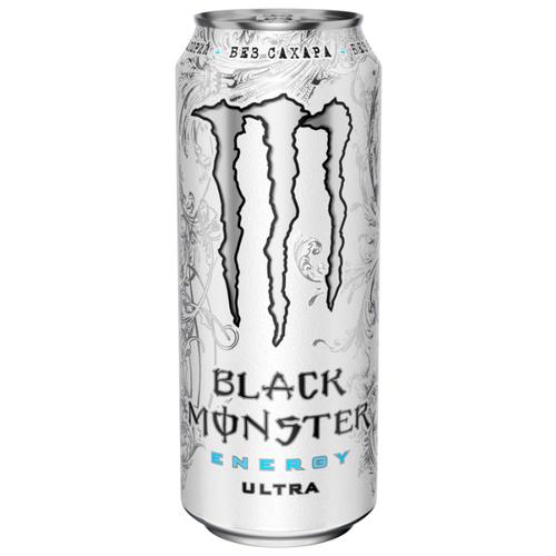 Энергетический напиток Monster Energy Black Ultra, 0.5 л drive me энергетический напиток 0 5 л