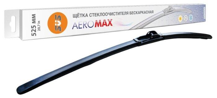 Щетка стеклоочистителя бескаркасная SVS AeroMax 525 мм