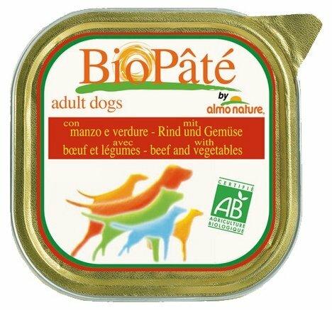 Корм для собак Almo Nature Daily Menu говядина с овощами