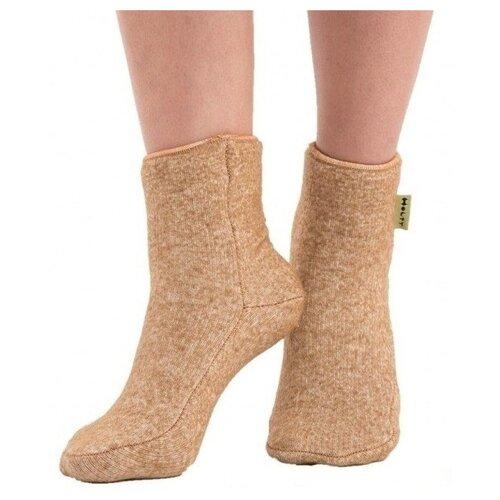 Носки Holty из верблюжьей шерсти 040901-0800, размер S(34-36), коричневый носки holty из овечьей шерсти 040901 0400 размер s 34 36 бежевый
