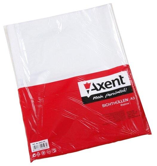Axent Файл А3 глянцевый вертикальный, 40 мкм, 100 шт