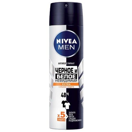 Купить Антиперспирант спрей Nivea Men Невидимый для черного и белого Extra, 150 мл