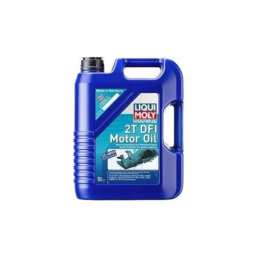 Полусинтетическое моторное масло LIQUI MOLY Marine 2T DFI, 5 л по цене 5 419