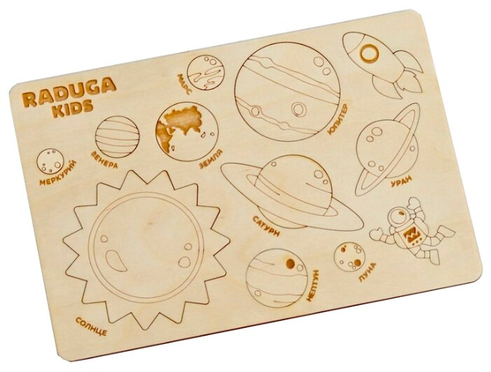 Рамка-вкладыш Raduga Kids Рамка-вкладыш Планеты (RK1019)