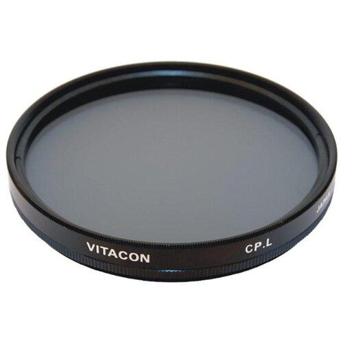Фото - Светофильтр поляризационный круговой Vitacon C PL 62 мм светофильтр поляризационный круговой hakuba circular pl 67мм