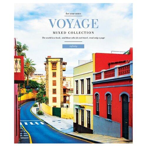 Купить ArtSpace Упаковка тетрадей Путешествия. Infinity voyage Т96к_29842, 5 шт./4 дизайна, клетка, 96 л., Тетради