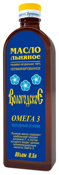 Компас Здоровья Масло льняное Вологодское