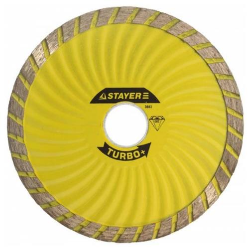 Диск алмазный отрезной STAYER 3663-105, 105 мм 1 шт.