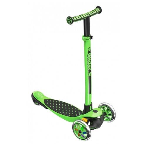 Фото - Кикборд Y-Volution Glider XL черно-зеленый y glider xl green
