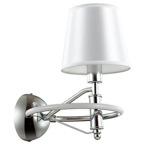 Бра Lumion CHELSIE, E14 + LED, 1х40 + 5 Вт, 220 В (черный, хром) декор настенный 20 1х40 5 azolla 2 бело зелёная