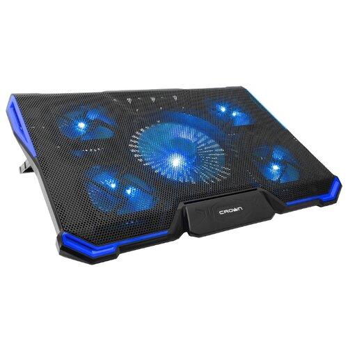 Подставка для ноутбука CROWN MICRO CMLS-K331, черный/синий