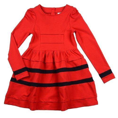 Платье Mini Maxi размер 122, красный платье oodji ultra цвет красный белый 14001071 13 46148 4512s размер xs 42 170