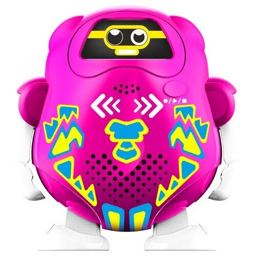 Купить Интерактивная игрушка робот Silverlit Talkibot розовый, Роботы и трансформеры