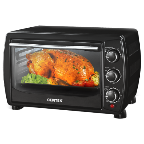 Мини-печь CENTEK CT-1536-20 black
