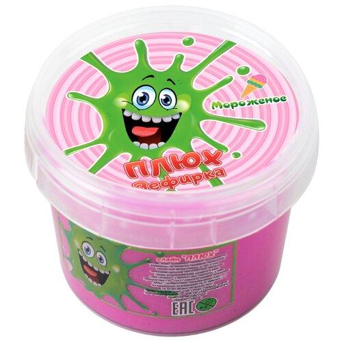 Лизун Плюх Зефирка Мороженое розовый