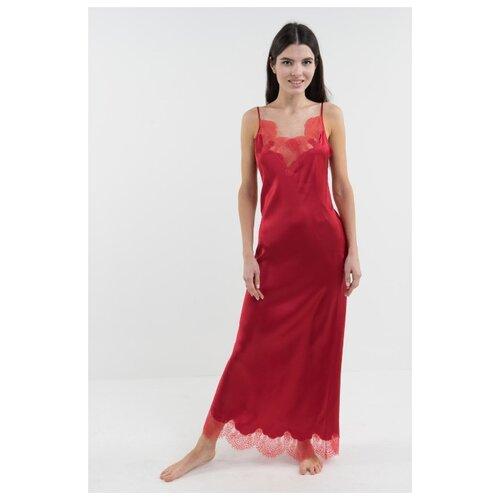 Сорочка D'amore размер XS/40-42 красный платье oodji ultra цвет красный белый 14001071 13 46148 4512s размер xs 42 170