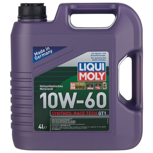 Моторное масло LIQUI MOLY Synthoil Race Tech GT1 10W-60 4 л