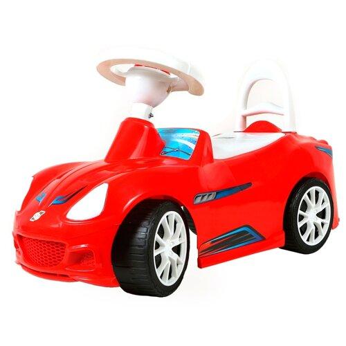 Купить Каталка-толокар Orion Toys Спорткар (160) со звуковыми эффектами красный, Каталки и качалки