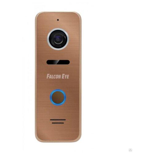 Вызывная (звонковая) панель на дверь Falcon Eye FE-ipanel 3 бронза видеопанель falcon eye fe ipanel 3 цветная накладная бронзовый