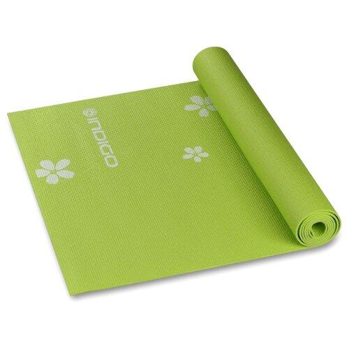 Коврик (ДхШхТ) 173х61х0.3 см Indigo YG03P зеленый рисунок