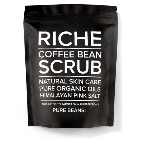 RICHE Кофейный скраб для тела Pure beans, 250 г riche кофейный скраб для тела pure beans 250 г
