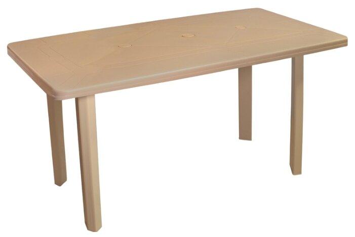 Стол обеденный садовый Туба-Дуба пластиковый прямоугольный