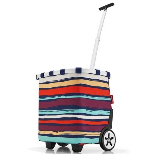 Сумка-тележка reisenthel Carrycruiser 40 л, artist stripes сумка тележка hayder пилот 20 л