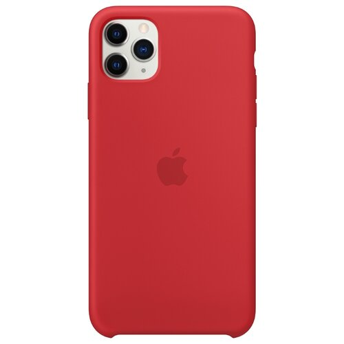 Чехол-накладка Apple силиконовый для iPhone 11 Pro Max (PRODUCT)RED чехол apple silicone case для iphone 11 pro product red