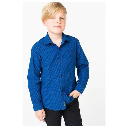 Купить Рубашка Nukutavake размер 128, синий, Рубашки