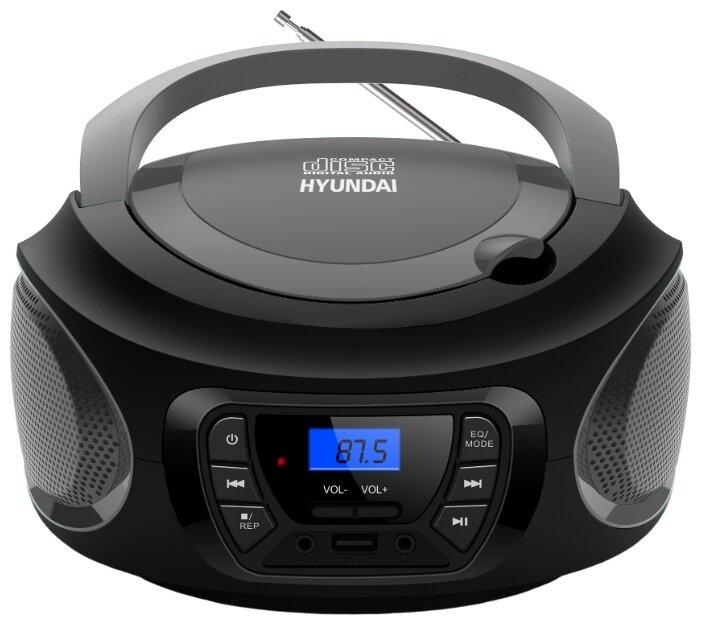 Магнитола Hyundai H-PCD380 Black-Grey